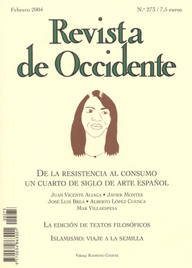 Revista de Occidente 273